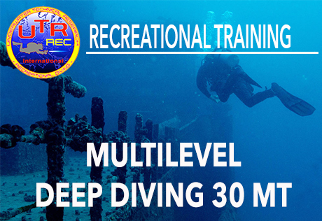 MULTILEVEL DEEP DIVING 30 MT